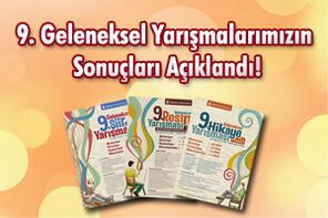 Ümraniye Belediyesi 9.Geleneksel Yarışmaları Sonuçları Açıklandı