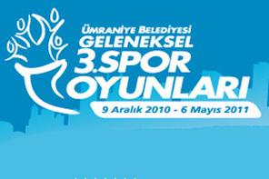 Ümraniye Belediyesi Geleneksel 3. Spor Oyunları Voleybol Müsabaka Sonuçları