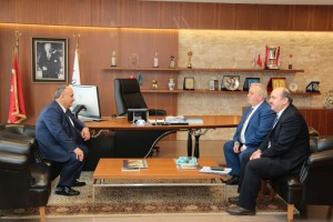 İSKİ Genel Müdürü'nden Başkan Hasan Can'a Ziyaret