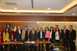 Denizli Merkezefendi Belediyesi'nden Başkan Hasan Can'a Ziyaret