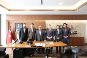 AK Parti İstanbul İl Gençlik Kolları'ndan Başkan Hasan Can'a Nezaket Ziyareti
