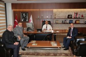 Tokat Babaköy Dernek Başkanı'ndan Başkan Hasan Can'a Ziyaret