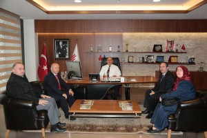 Ümraniye Endüstri Meslek Lisesi Müdürü'nden Başkan Hasan Can'a Ziyaret