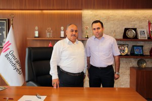 Mehmet Akif Ersoy İmam Hatip Ortaokulu Kurucu Müdürü'nden Başkan Hasan Can'a Ziyaret