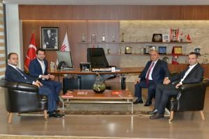 Milletvekili Abdurrahim Boynukalın'dan Başkan Hasan Can'a Ziyaret