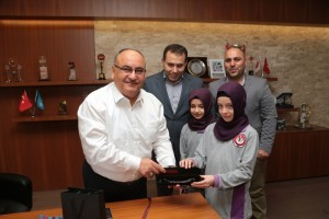 Mehmet Akif Ersoy İmam Hatip Ortaokulu'ndan Başkan Hasan Can'a Ziyaret
