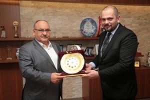 Ümraniye Kent Konseyi Gençlik Meclisi'nden Başkan Hasan Can'a Nezaket Ziyareti