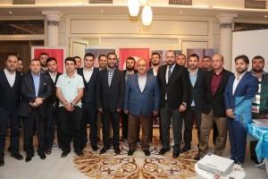 Başkan Hasan Can Gençlerle Bir Araya Geldi