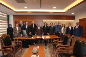 Başkan Hasan Can AYEDAŞ Yönetimini Ağırladı