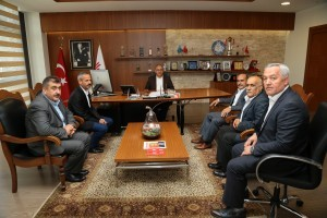 Ümraniye Dernekler Platformundan Başkan Hasan Can'a Ziyaret
