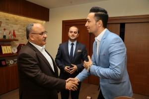 29 Mayıs Üniversitesi Uluslararası Öğrenci Konseyi'nden Başkan Hasan Can'a Teşekkür Ziyareti