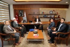 Ümraniye Sondurak Camii Vakfından Başkan Hasan Can'a Ziyaret