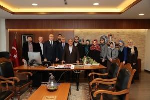 Kadıköy Anadolu İmam Hatip Lisesi Müdürü ve Bosna Hersek Travnik Medresesi Okul Müdürü'nden Başkan Hasan Can'a Ziyaret