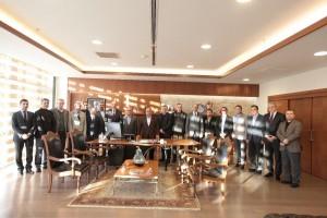Ümraniye Belediyesi Spor Derneğinden Başkan Hasan Can'a Ziyaret