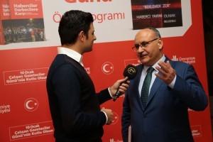 Ümraniye Belediye Başkanı Hasan Can 24 TV Yayın Konuğu Oldu