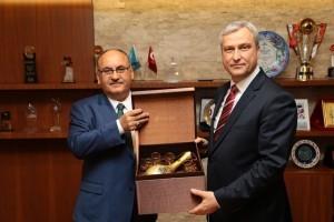 Anadolu Kuzey Kamu Hastaneleri Birliği Genel Sekreterinden Başkan Hasan Can'a Ziyaret
