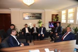 Başkan Hasan Can Ümraniye İlçe Emniyet Yeni Müdürünü Ziyaret Etti