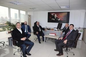 Başkan Hasan Can'dan Ümraniye İŞKUR'a Ziyaret