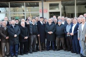 Başkan Hasan Can Topağacı Mahallesi Esnafıyla Bir Araya Geldi