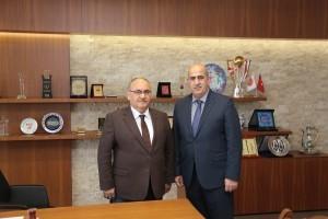 Rize Ardeşen Tunca Belde Belediye Başkanı Ahmet Naci Aytemiz'den Başkan Hasan Can'a Ziyaret
