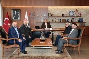 İHH İnsani Yardım Vakfı Genel Başkan Yardımcılarından Başkan Hasan Can'a Ziyaret