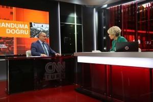 Başkan Hasan Can, CNN Türk'ün Canlı Yayın Konuğu Oldu