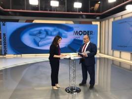 Başkan Hasan Can 24 TV'nin Canlı Yayın Konuğu Oldu