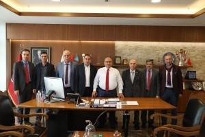 BİN-İL-DER'den Başkan Hasan Can'a Ziyaret