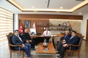Türkiye Harp Malulü Gaziler Şehit Dul ve Yetimleri Derneği İstanbul Anadolu Yakası Şubesi'nden Başkan Hasan Can'a Ziyaret
