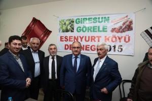 Başkan Hasan Can, Topağacı Mahalle Esnafı ile Bir Araya Geldi