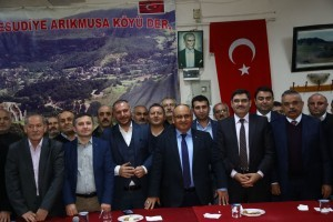 Başkan Hasan Can, Ataşehir Ordu Mesudiye Arıkmusa Köyü Derneğini Ziyaret Etti