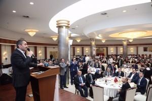 AK Parti İstanbul İl Başkanı Dr. Selim Temurci ve Başkan Hasan Can, Ümraniye'de Samsunlular ile Buluştu