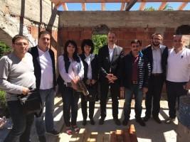 Ümraniye Belediyesi Tarafından Bulgaristan'a Yapılacak Camiinin İnşaatına Başlandı
