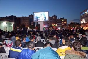 Avrupa Şampiyonu Fenerbahçe'nin Galibiyet Coşkusu Ümraniye'de Yaşandı