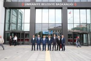 Gümüşhane Belediye Başkanı Ercan Çimen'den Başkan Hasan Can'a Ziyaret