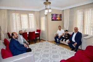 Başkan Hasan Can'dan 15 Temmuz Gazisi Cihan Yıldız'a Ziyaret