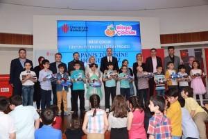 Bilge Çocuk Eğitim Projesinin Yıl Sonu Kapanış Töreni Gerçekleşti