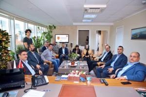 Başkan Hasan Can'dan AK Parti Ümraniye İlçe Başkanlığına Ziyaret