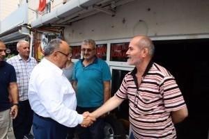 Başkan Hasan Can Esnaf Ziyaretlerine Devam Ediyor