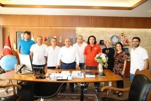 Ümraniye Kemerdere Spor Kulübü'nden Başkan Hasan Can'a Ziyaret