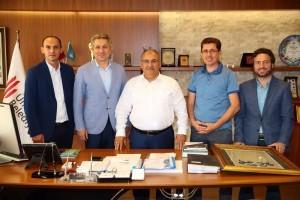 Rize Dernekler Federasyonu'ndan Başkan Hasan Can'a Ziyaret
