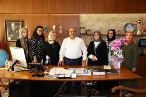 İnsan ve İrfan Vakfı'ndan Başkan Hasan Can'a Teşekkür Ziyareti