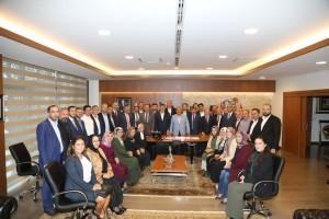 AK Parti Ümraniye İlçe Başkanlığı'ndan Başkan Hasan Can'a Ziyaret