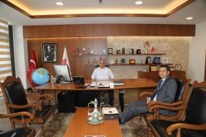 Üsküdar Devlet Hastanesi Başhekimi Op. Dr. Şafak Fırat Kulalı'dan Başkan Hasan Can'a Ziyaret