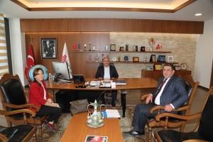 Ümraniye İlçe Sağlık Müdürü Dr. Cemal Karaağaç'tan Başkan Hasan Can'a Ziyaret