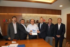Ordu Dernekler Federasyonu'ndan (ORDEF) Başkan Hasan Can'a Ziyaret