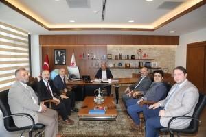Burak Derneği ve İstanbul Medeniyet Üniversitesi'nden Başkan Hasan Can'a Teşekkür Ziyareti