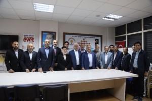 Başkan Hasan Can AK Parti Ümraniye Esenkent Mahalle Teşkilatının Aşure Programına Katıldı