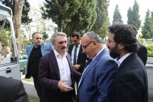 AK Parti İstanbul Milletvekili Ahmet Hamdi Çamlı'nın Babası Ahmet Zeki Çamlı Hakka Uğurlandı