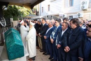 Başkan Hasan Can, Ümraniye Kaymakamı Suat Dervişoğlu'nun Yeğeninin Cenaze Törenine Katıldı